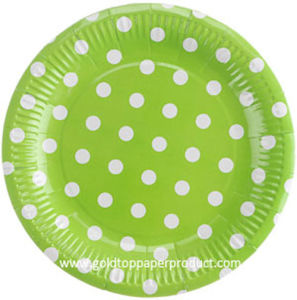 Disposable Paper Dinner Plates Party Supplies pictures & photos