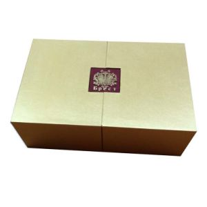 Fasional Rigid Cardboard Gift Box Wrapped with Satin Fabric