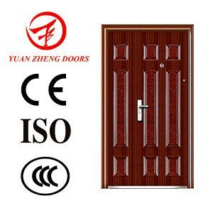 Popular Design Best Price Steel Double Door for Gate House pictures & photos