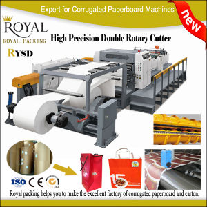 Rysd Servo Precision High Speed Double Rotary Sheet Cutter pictures & photos