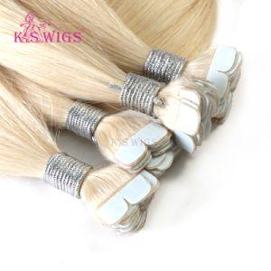 Virgin Russian Hair M Shape Micro Tape Hair Extension pictures & photos