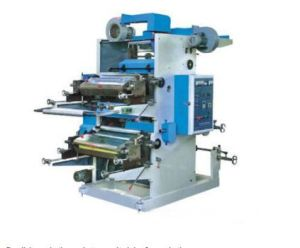 Double-Color Flexo Printing Machine with Ce Certification pictures & photos