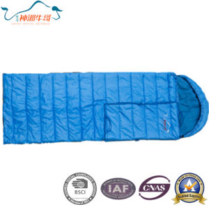 Warm and Soft Polyester Sleeping Bag pictures & photos