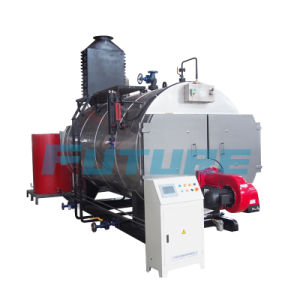Asme Code Oil/Gas Fired Steam Boiler (WNS1-15t/h) pictures & photos