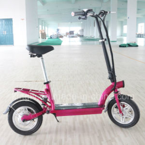 "2016 Cheap 12"" Folded electric Bike with Middle Suspension pictures & photos"