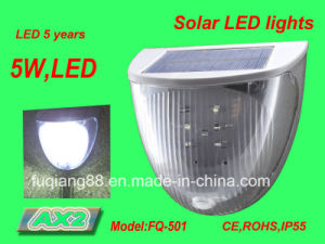 Fq-501 Outdoor Wall Mounted LED Solar Electronic Lamp pictures & photos