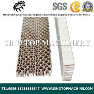 Paper Vertical Corrugated Core Made in China pictures & photos