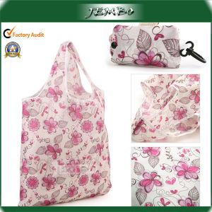 Easy Carry OEM Promotional Polyester Shopping Foldable Bag pictures & photos