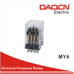 General Purpose Electronic Relay/Power Relay/ Relay with CE (My4)