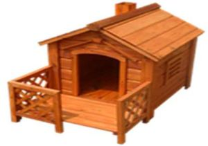 Dh05m Wooden Pet Doge Cage Hutch House Kennel