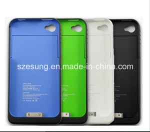 for iPhone4 Battery Pack 11 Color 1900mAh External Rechargeable Backup Battery Power Charger Case for iPhone 4 4s 4G