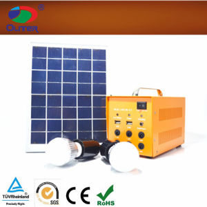 12V12ah Solar Power System for LED Lighting pictures & photos