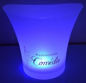 New Shape Round Ice Bucket for Drinking pictures & photos