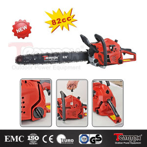 Teammax 82cc Professional Quick Start Gasoline Chain Saw pictures & photos