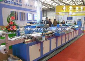 Clothing Label Automatic Screen Printing Machine with Ce Certificate pictures & photos