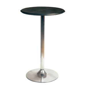 Modern Popular ABS Round Bar Table with Chromed Base (FS-201) pictures & photos