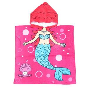 Cute Designs of Kids Printed Bath Poncho Beach Towel pictures & photos