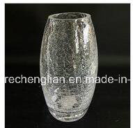 Hand Made Ice Crackle Glass Jar (J-012) pictures & photos