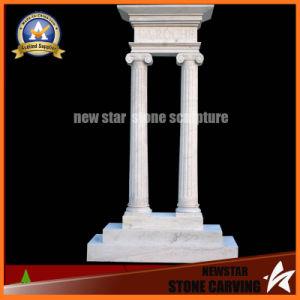 Stone Carved Decorative Natural Stone Roman Pillar (NS-11TC07) pictures & photos