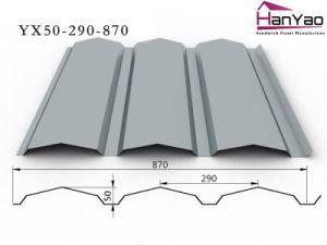 2015 New Galvanized Corrugated Steel Floor Sheet Yx50-290-870 pictures & photos