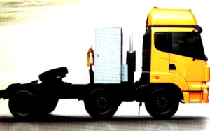 Dongfeng 6X2 CNG Tractor Truck/Tractor Head pictures & photos