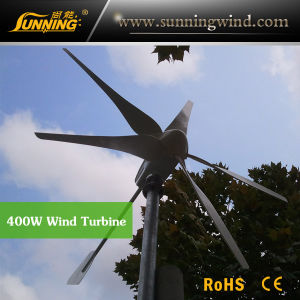Residential Wind Generator 400W Small Wind Turbine Home Use pictures & photos