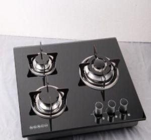 3 Burner Indoor Built in Gas Hob, Gas Cooker pictures & photos