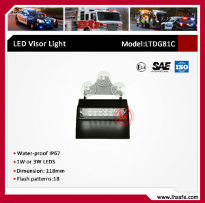 LED Warning Visor Light (LTDG81C) pictures & photos