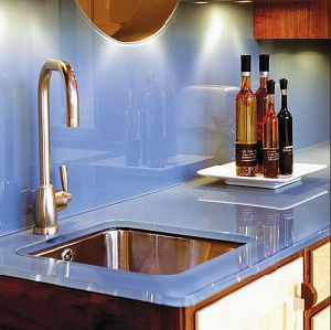 High Quality 15mm Tempered Glass Worktop pictures & photos