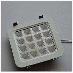 16W CE Square (round angle) Warm White LED Ceiling Light