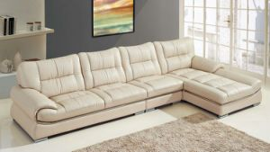 Luxury Leather Couches French Recliner Couch with LED pictures & photos