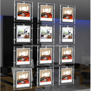 One Side Slim LED Acrylic Crystal Advertisingled Light Box pictures & photos