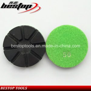 3 Inch Chinese Resin Granite Polishing Pad for Floor Grinding pictures & photos