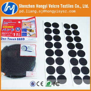 Customized Professional Hook & Loop Self Adhesive Velcro Tape pictures & photos