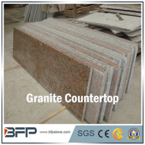 Granite Kitchen Countertop/Vanity Top with Eased Treatment pictures & photos