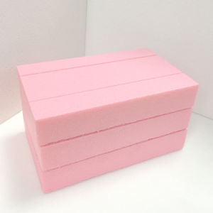 Fuda Extruded Polystyrene (XPS) Foam Board B1 Grade 1000kpa Pink 25mm Thick Slotted