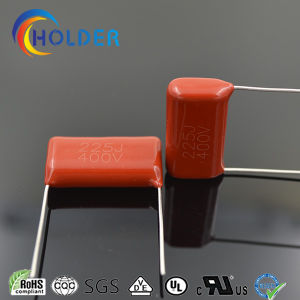 Metallized Polyester Capacitor (Cl21 225j/400V P=25) Electronic Components Red Color pictures & photos