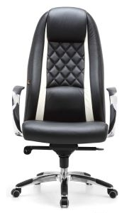 Economic Leather Task Chair Office Chair Desk Chair pictures & photos