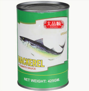High Quality Canned Mackerel in Brine pictures & photos