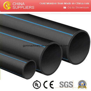 PE HDPE LDPE LLDPE Plastic Pipe Manufacturing Line pictures & photos