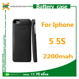 Mobile Phone Accessories 2200mAh Battery Case for iPhone 5 5s pictures & photos