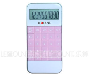10 Digits Mini Handheld Gift Pocket iPhone Calculator (LC502PK) pictures & photos