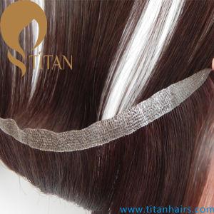 100% Virgin Human Hair Weft Thin Skin Hair Weaving