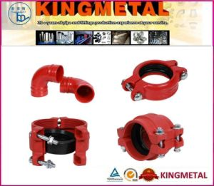 Ductile Iron Groove Pipe Fitting & Joint Coupling Fittings pictures & photos