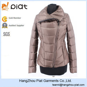 2016 Fashion Ladies Custom Slim Down Best Winter Jacket