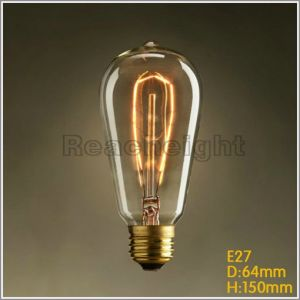 St64 Leaf Vintage Edison Bulb Incandescent Light Bulbs pictures & photos