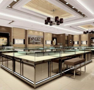 Custom Jewelry Store Showcase and Counter pictures & photos