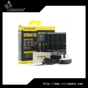 High Quality&Authentic Nitecore 18650 Battery Charger Intellicharger Nitecore D4 with LCD Display pictures & photos