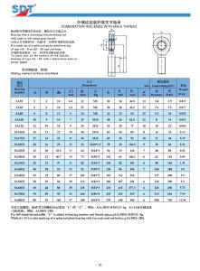 Requiring Maintenance Rod Ends (Series GAR...DO / SA...E, SA...ES) pictures & photos
