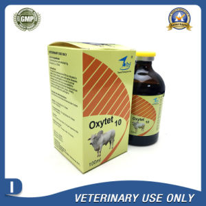Veterinary Drugs of 10% Oxytetracycline Injection (50ml/100ml) pictures & photos